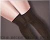 Knee Socks - Brown