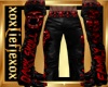 [L] DARK Skull Pants M