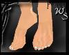Barefoot White Toenails