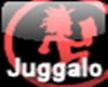 Juggalo Button Sticker