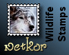 Wildlife Stamps: Wolf2