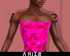 Pink Cut  SnakeSkin Top
