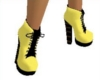 yellow platform shoes
