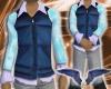 Blue vest & V/B polo