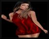 Little Silk Dress-Red