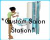 *Custom Salon Station*