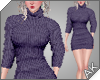 ~AK~ Fall Sweater: Plum