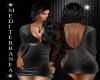 Sandra Grey Lace Dress