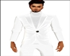 White Suit Jacket Pulli