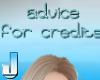 Advice for credits - blu