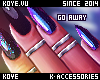 |< Go Away! Nails+Rings!