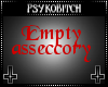 PB Empty accessory