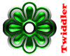 Exotic Green Flower