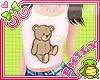 E Little Teddy Bear Tee