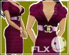 classic bordeaux dress