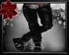 -A- (M) PVC Pants Black