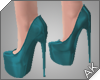 ~AK~ Fall Heels: Teal