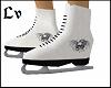 Mens Ice Skates Skull