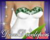 Diva Green Wedding Top