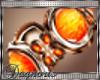 D: Orange bracelets