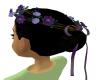 Flower Crown Dark Purple