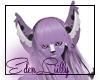 [Eden] Yoru purple Ears