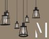 Industrial Hanging Lamps