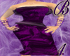 *B4* Purple Velvet Dress