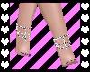 Lacey Purple Feet
