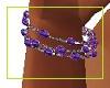 kids purple bracelet