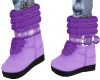 Purple Winter Boots