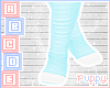 . Cute Blue Socks