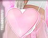 x heart purse