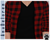 [AD] Red Plaid Sweater