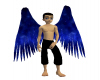Arch Angel Wings Blue