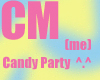 Candy Party Poster Milly