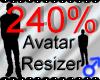 *M* Avatar Scaler 240%