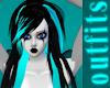 Aqua Rave Hair