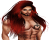 Merman Dark Red Long