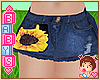 ! KIDS Sunflower Shorts