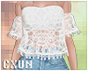 Off Shoulders Lace Top W