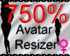*M* Avatar Scaler 750%