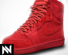 1s Red Suede (F)