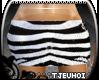 [Tj] Zebra Sequin Skirt