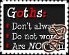 DLF ~ Goth's Notice