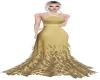 Harpia Vestido Dourado