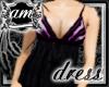 [AM] Grace Violet Dress