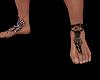 Christen bare feet tatoo