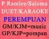 ~P RAMLEE/SALOMA KAROK~