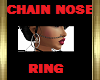 CHAIN NOSE RING